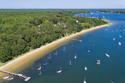 Aerial Photograph of Cotuit coast