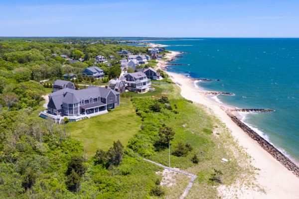 Photograph of East Falmouth Waterfront Home