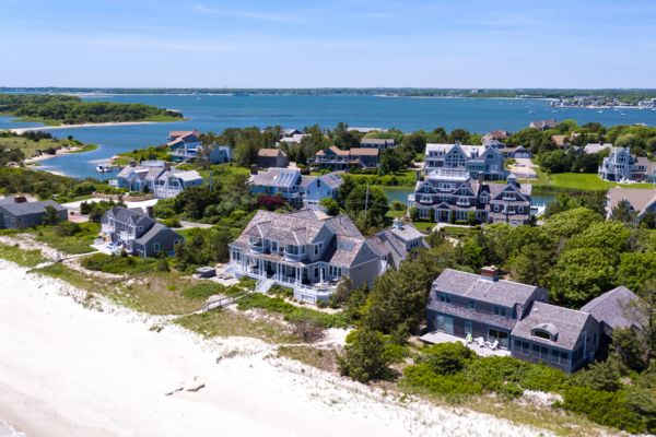 Photograph of West Yarmouth Beachfront Property