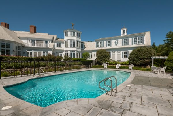 Photograph of Harwich Port home with pool