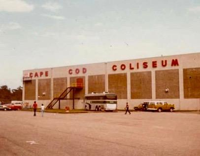 Cape Cod Coliseum back in the day. South Yarmouth, MA on Cape Cod.