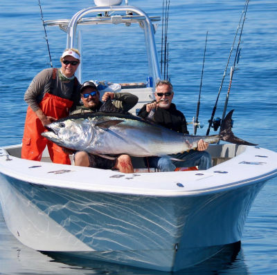 Boating in the fall offers many opportunities including fantastic fishing.