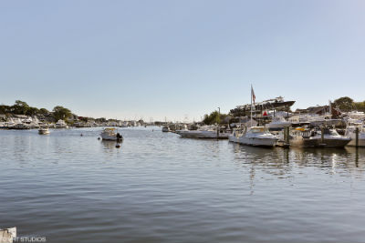 Falmouth Massachusetts Inner Harbor offers several marinas for boaters.