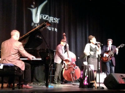 Falmouth Jazzfest performances Saturday October 20 and Sunday October 21, 2018.
