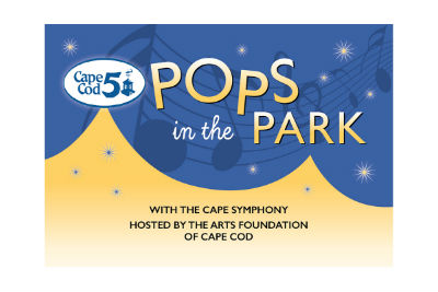 photograph of Pops in the Park logo from Cape Cod 5