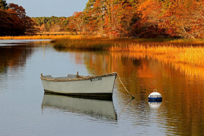 Fall boating on Cape Cod offers beauty, peace and serenity.