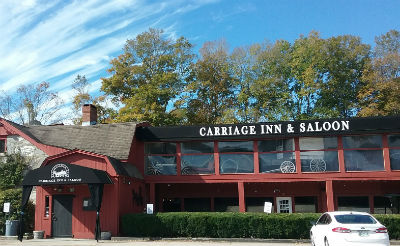 Haunted? Dan's Carriage Inn and Saloon in North Kingstown, RI.