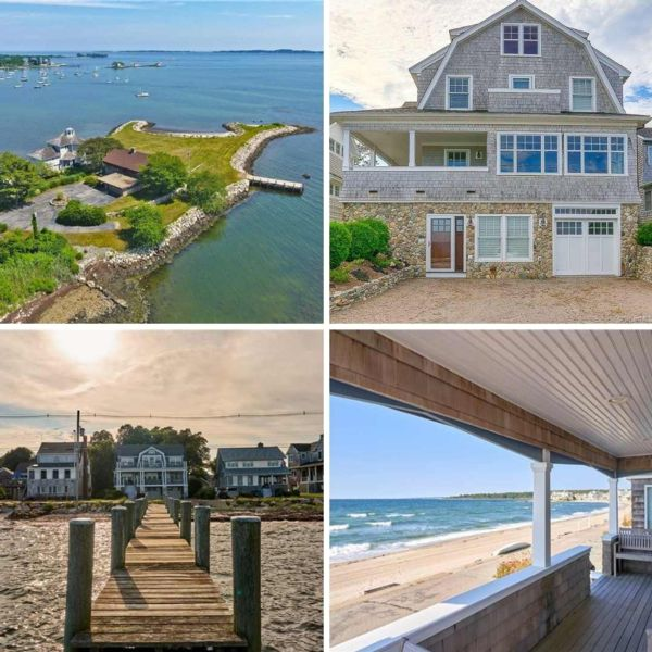 photos of 4 properties recently sold in groton