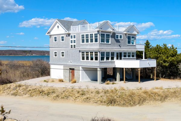 Photograph of South County Beachfront home