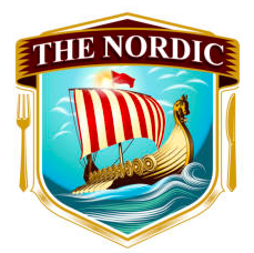Graphic logo for the nordic restaurant