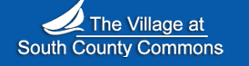 Graphic logo for the village at south county commons