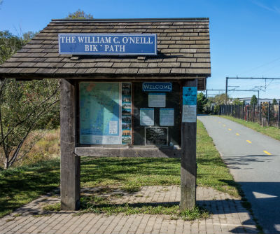 The WIlliam C. O'Neill Bike Path in Rhode Island is also known as The South County Bike Path.