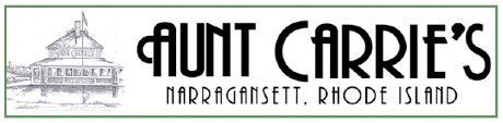 Graphic for Aunt Carrie's restaurant logo