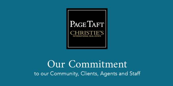 Graphic of Page Taft Community commitment